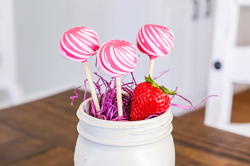 Simply Strawberry Cake Pop (6)