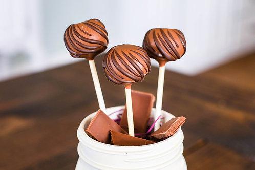Simply Chocolate Cake Pop