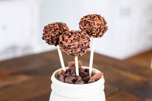 Chocolate, Chocolate, Chocolate Cake Pop (6)