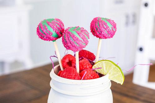 Gia's Raspberry Limeade Cake Pop (6)