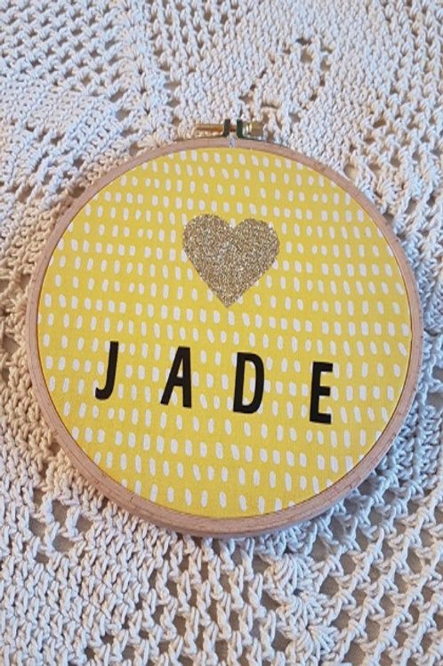 Tambour à personnaliser - Jade