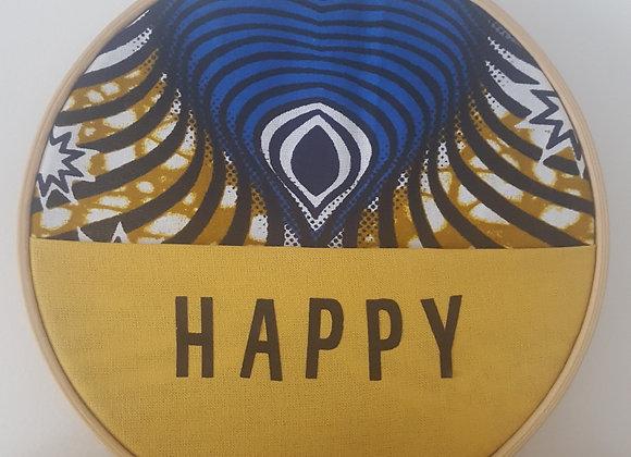 Tambour à personnaliser - Happy