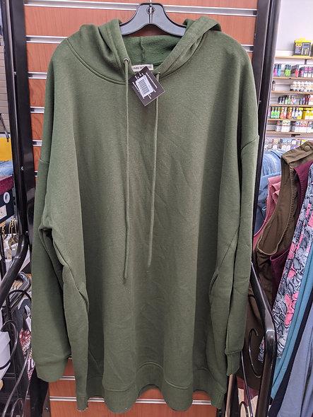 Zenana super long hoodie