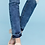 Thumbnail: American Blue Destroyed denim frayed ankle