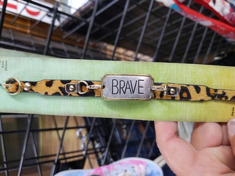 Brave leopard bracelet
