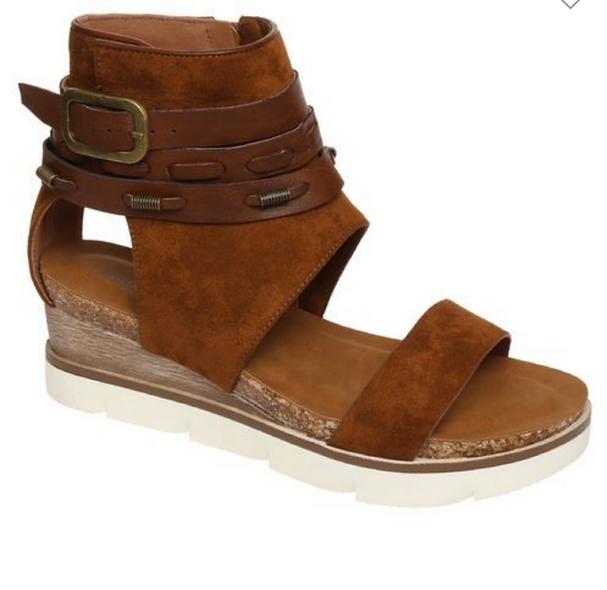 Pierre Dumas whiskey sandals