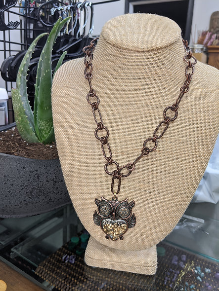 Steampunk owl #1827