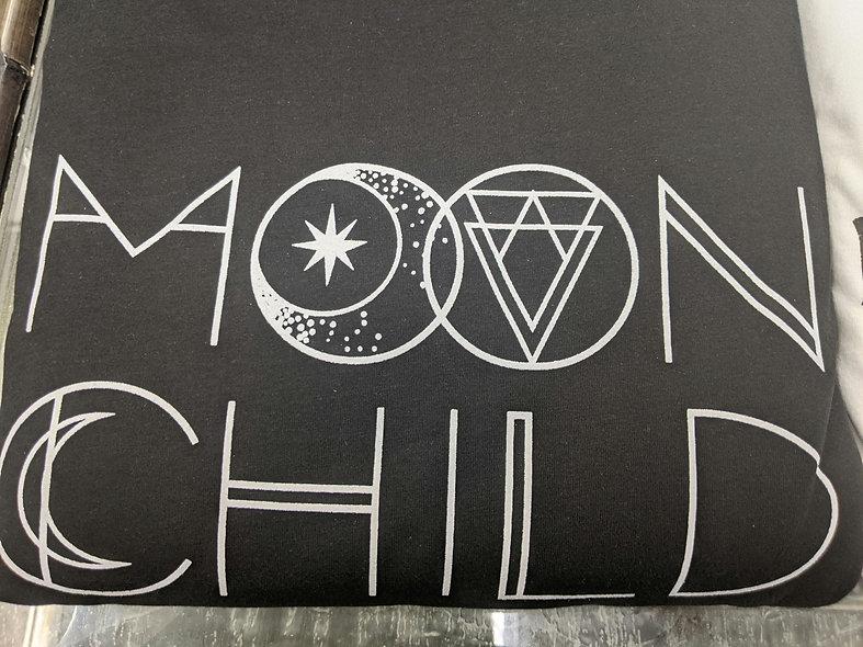 Black Sparrow Moon Child Tee