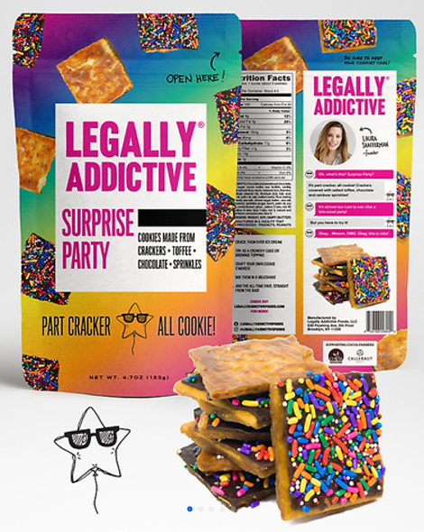 Legally Addictive Snax part cracker all cookie