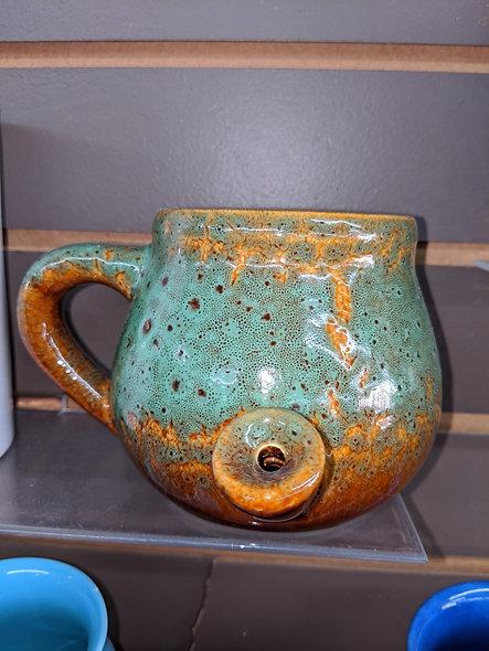 Ceramic speckled glazed mug giftware