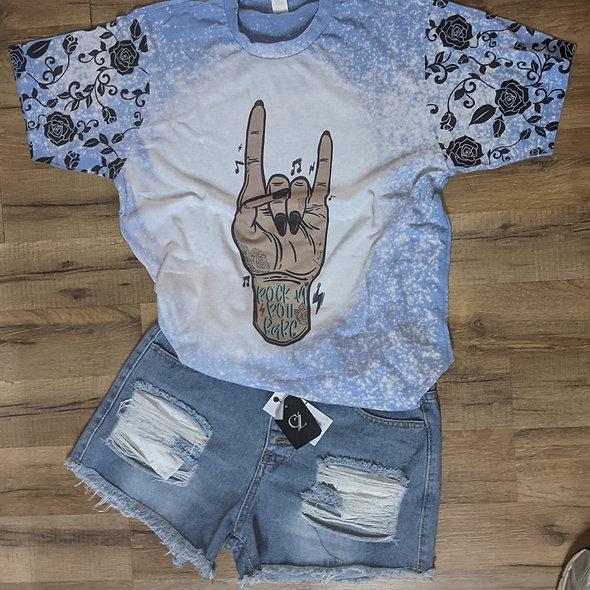 Rock N Roll Babe tee