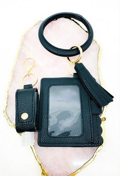 Keychain , wallet, sanitizer, BRACELET