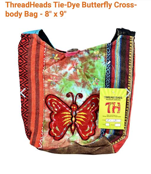 Thread heads butterfly bag 9.5 x 9