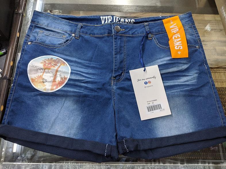 VIP PLUS denim shorts