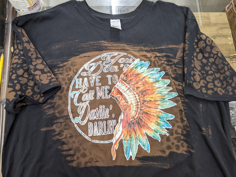 You don't have to call me Darlin' OOAK Tee az 2XL