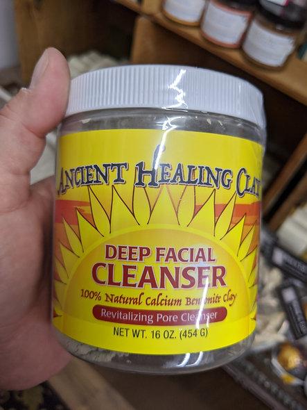 Ancient healing clay mask
