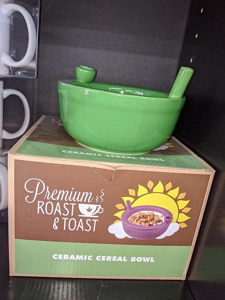 Roast & Toast ceramic cereal bowl
