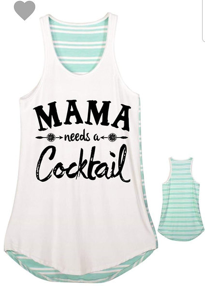 Mama needs a cocktail pink or teal