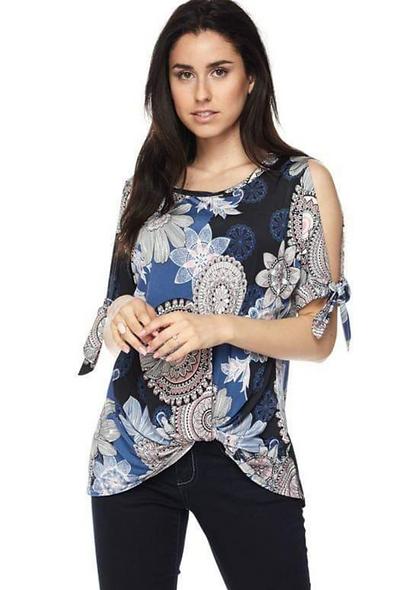 Balinese pinwheel tops open sleeve