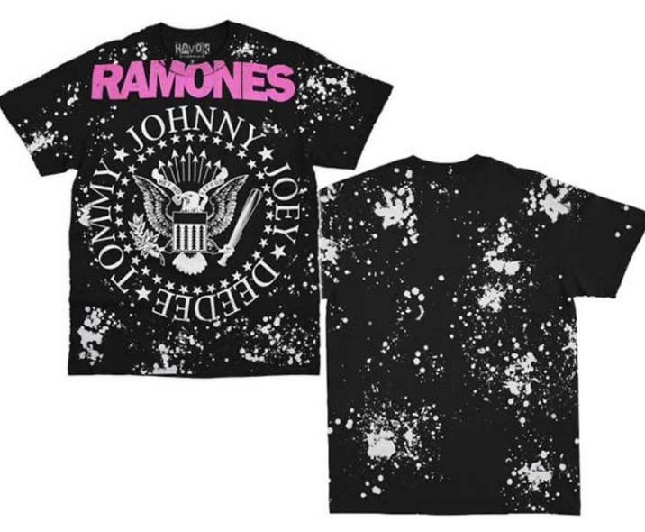Ramones bleached