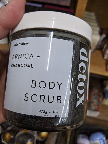 Body couture detox body scrub