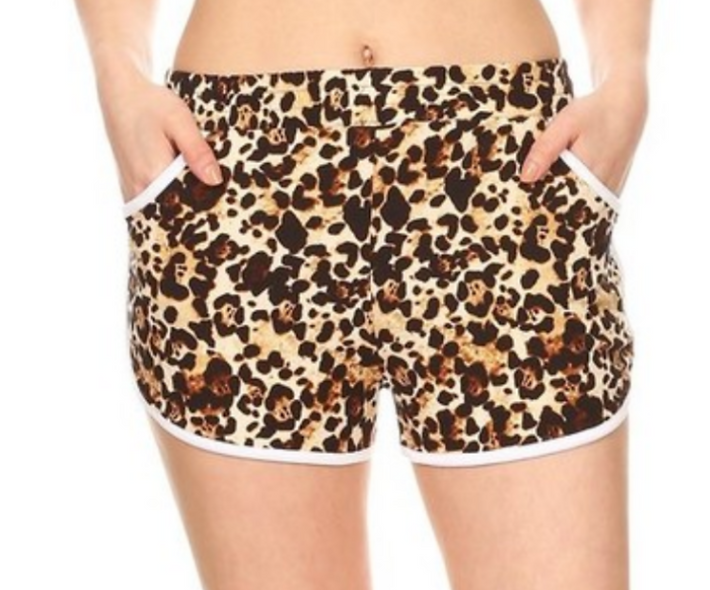 LOTS of patterns Super soft stretchy shorts with pockets