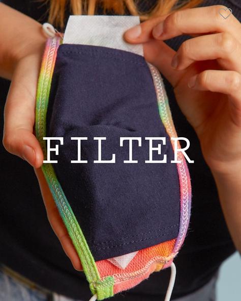 Mask filter 3 pack