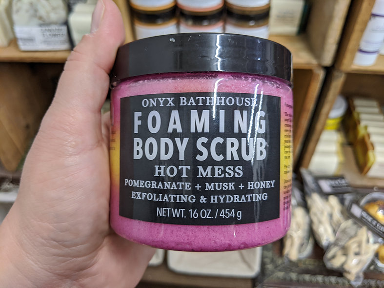 Hot Mess Foaming scrub tub