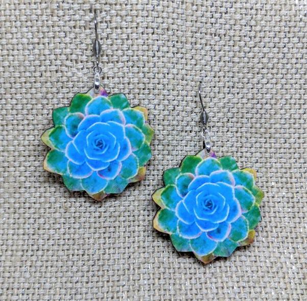 Crazy plant lady blue lotus