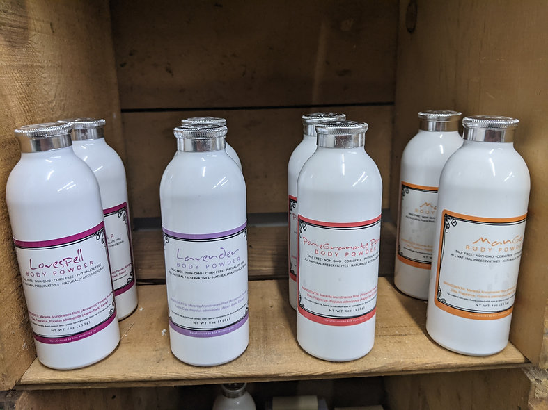 Body Powder/ dry shampoo