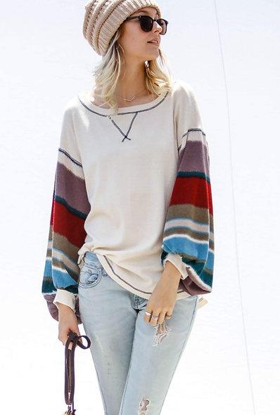 Sahara bell sleeve lightweight sweater