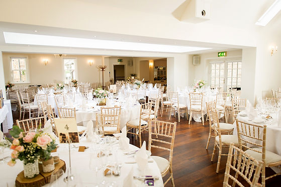 The Falcon Hotel in Rutland Wedding Recetion location, The Garden Terrace in East Midlands