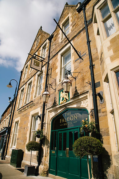 The Falcon Hotel Uppingham, Rutland Front Entrance
