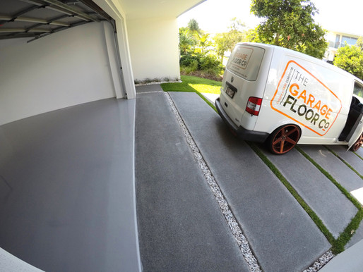 Pelican Waters Epoxy Floor Finishes refreshing garage floor makeovers that last