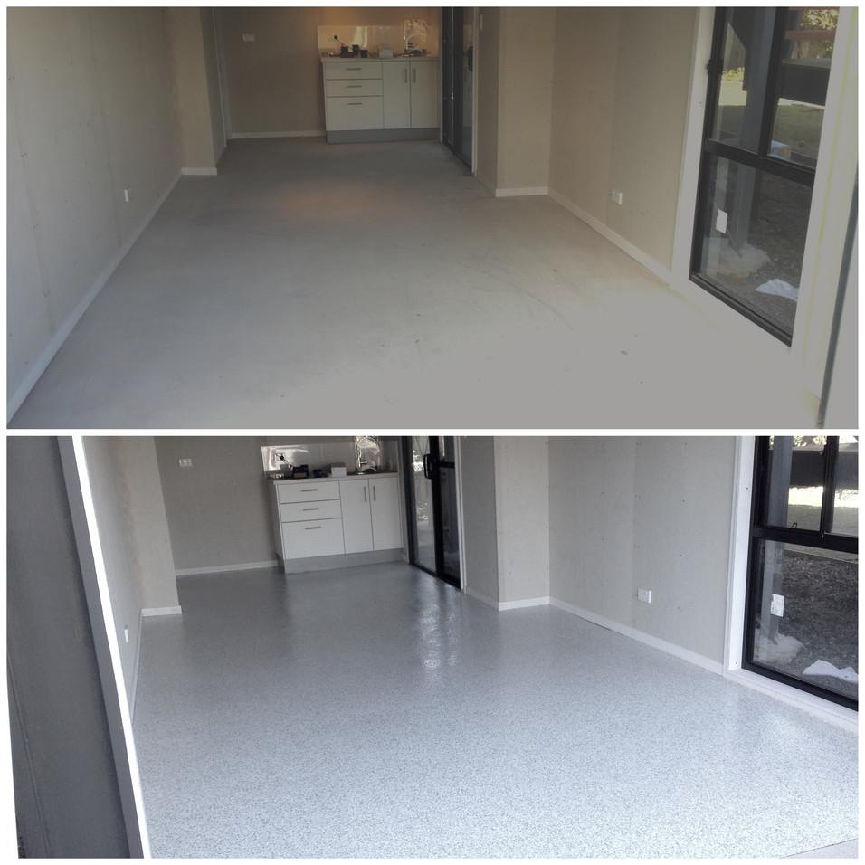 Minyama epoxy floors   The Garage Floor Co.