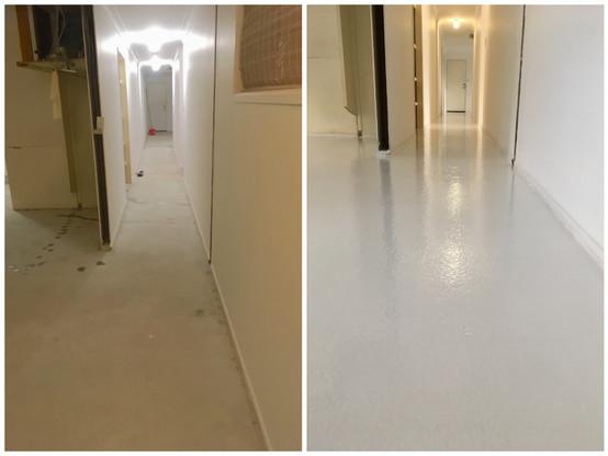 Epoxy floor Hallway Buderim
