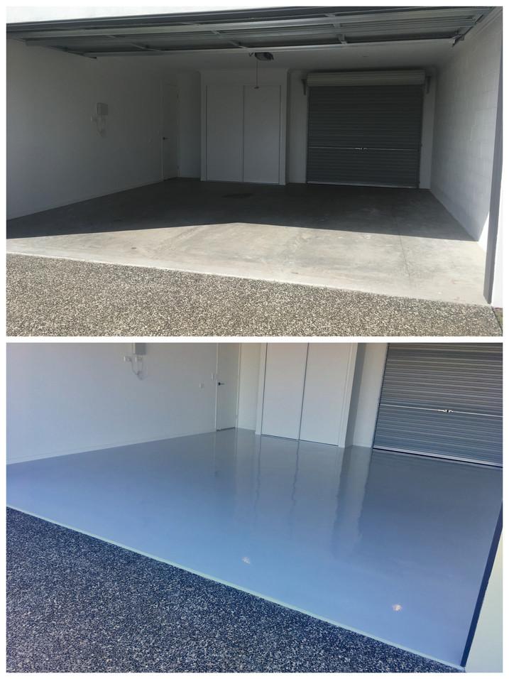 Pelican Waters epoxy flooring