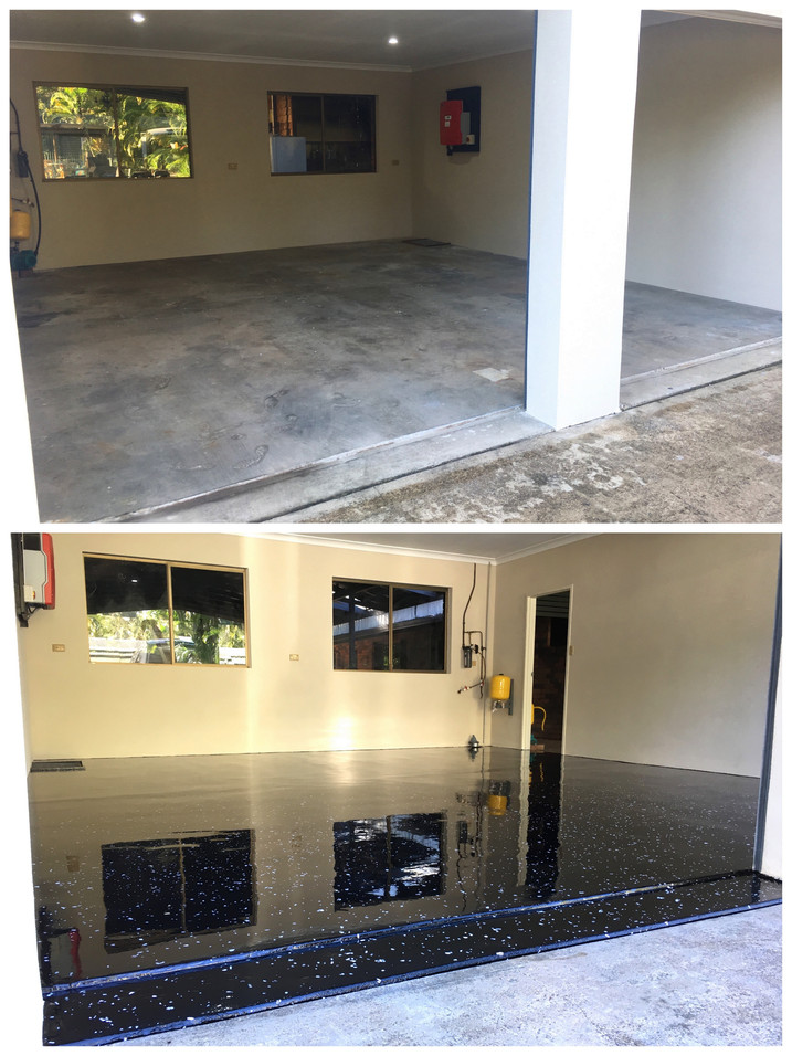 Yandina epoxy flooring 2