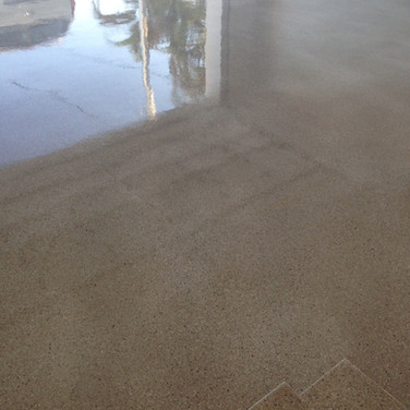 Maroochydore Quartz Stone Epoxy Floor