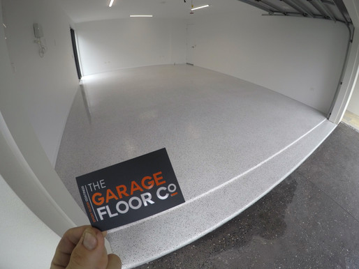 Seamless Epoxy Floors | Peregian Beach transforming cracked and oil stained garage floors
