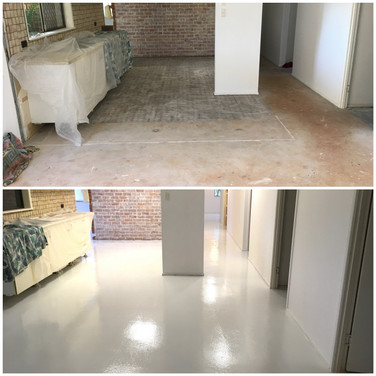 Plain epoxy coating Buderim