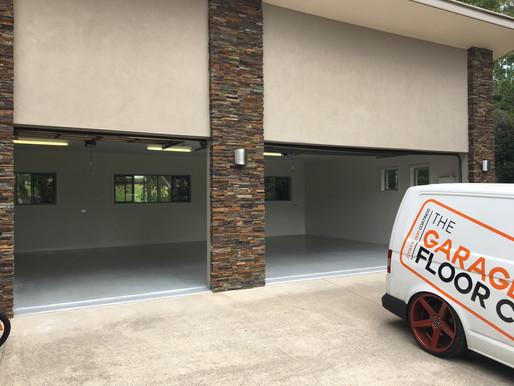 Mountain Creek Epoxy Floors, The Garage Floor Co. transforming garage floors this week