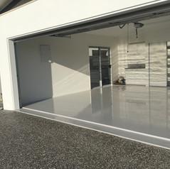 Bribie Island double garage