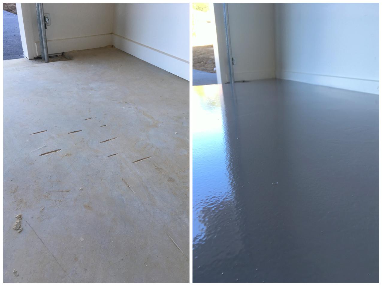 Moffat Beach epoxy flooring