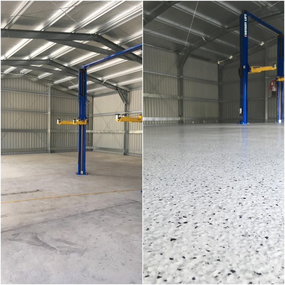 Flake Epoxy Flooring   Ilkley