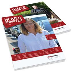 Hovedsmerten medlemsblad for HortonForeningen, Danmarks patientforening for hovedpineramte