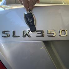 Mercedes SLK350 Car Key