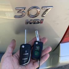 Peugeot 307 Car Key