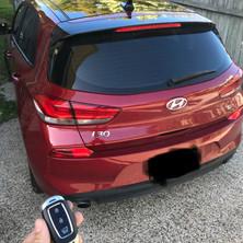Hyundai i30 Car Key