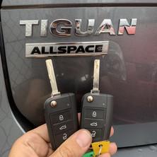VW Tiguan Car Key